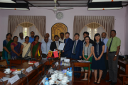 Meeting with the delegation from Southwest Minzu University, China
