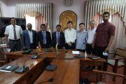 Visiting China Railway delegation